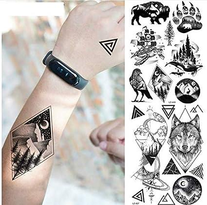 ruofengpuzi Adesivo tatuaggioTatuaje de la muñeca de los hombres ...
