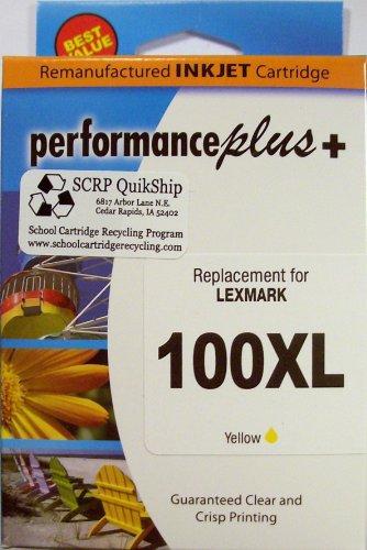 IJR 100XL Lexmark Inkjet Cartridge, Yellow