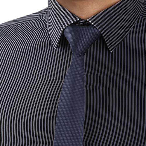 Dan Smith DAE2009 Dim Grey Handmade Slim Necktie Matching Present Box Set CheckeRed Fashion Tie ST ()