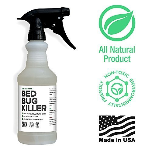 Bed Bug Spray By Killer Green - Best Non-Toxic All Natural Killer...