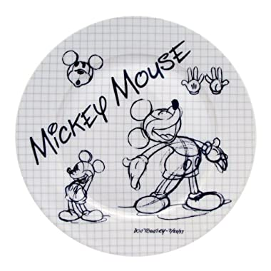 Disney Sketchbook Mickey Salad Plate, Set of 4