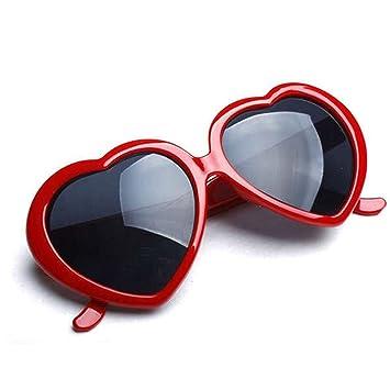 HuaYang 2013 très demandé en forme de cœur l'amour rétro lunettes de soleil(Blanc) fHLW9kWL