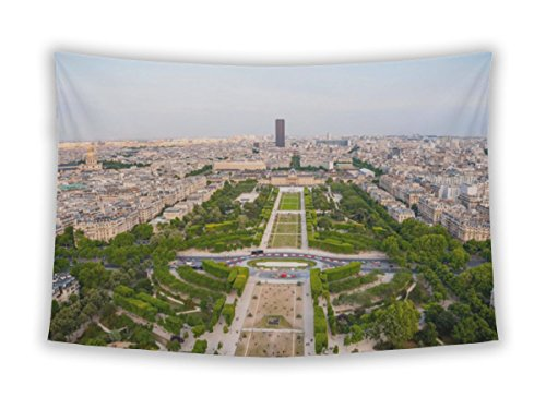 , Paris Skyline From Eiffel Tower, Paris wall hangings