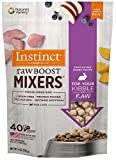 Instinct Freeze Dried Raw Boost Mixers Grain Free Farm Raised Rabbit Recipe All Natural Cat Food Topper by Nature's Variety, 6 oz. Bag