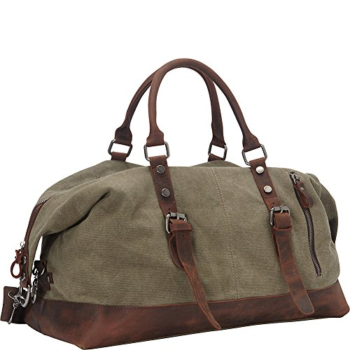 vagabond-traveler-classic-antique-style-cotton-canvas-medium-duffle-bag