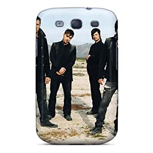 Great Hard Phone Covers For Samsung Galaxy S3 (RFf147LiiX) Support Personal Customs HD 30 Seconds To Mars Band 3STM Image
