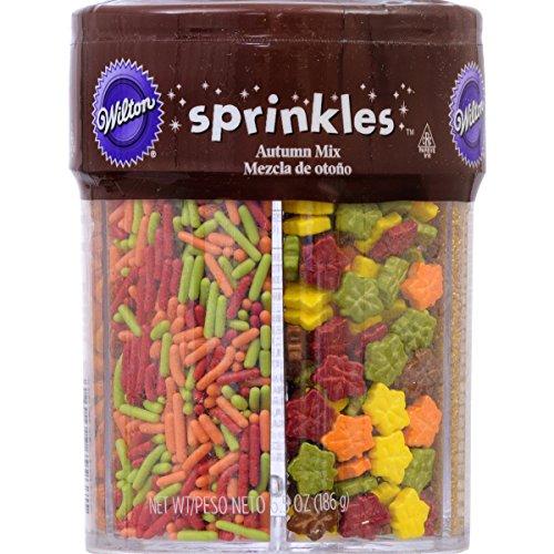 Wilton Fall Sprinkles Mix -