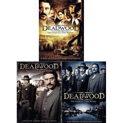 Deadwood - The Complete First Two Seasons (Bonus HBO DVD) (2 pack) movie