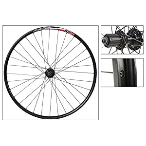 Alex DP20 29er Disc Rear Wheel, 8/9 Speed, QR, NMSW, Black