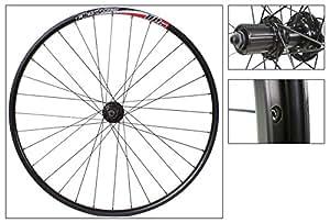 Alex DP20 29er Disc Rear Wheel, 8/9-Speed, QR, NMSW, Black