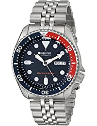 Mens SKX175 Stainless Steel Automatic Dive Watch