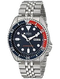Seiko Men's SKX175 Automatic Dive Silver-Tone Watch