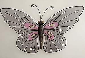 Metal Mariposa rústico Decoración