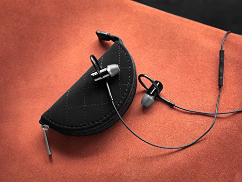 Bowers & Wilkins C5 Series 2 In-Ear Headphones, Secure Fit, Black