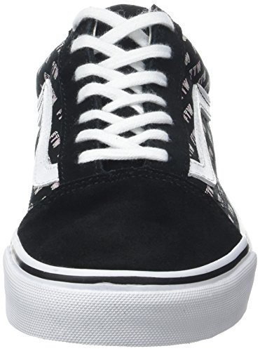 sayings Vans Basses Ua Sneakers Skool Femme Black Noir Old q0qBT