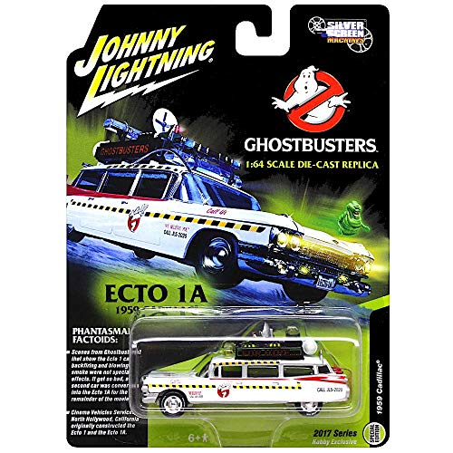 Johnny Lightning - Ghostbusters' Ecto 1A, a 1959