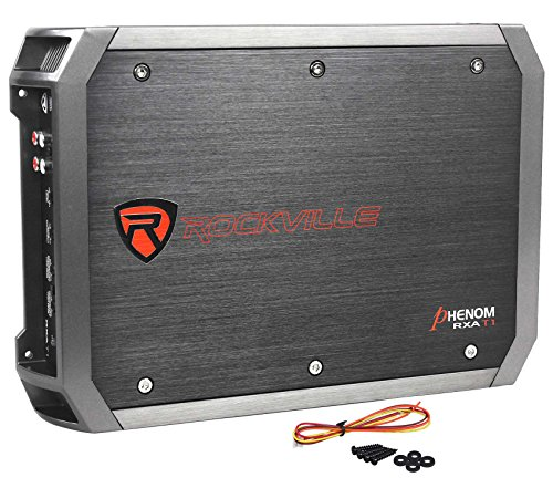 (New Rockville RXA-T1 1500 Watt Peak/750w RMS 2 Channel Amplifier Car Stereo Amp)