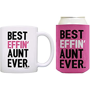 Amazon.com: Aunt Gifts for Women Best Effin Aunt Ever