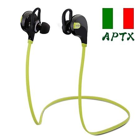 Mpow Swift Stereo Wireless Bluetooth 4.0 Sport Earphones Running Headphones Headset with Mic Hands Free Calling Bedding
