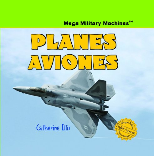 Planes/Aviones (Mega Military Machines / Megamaquinas Militares) (English and Spanish Edition) by Powerplus