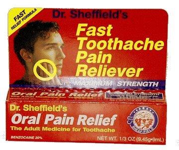 Oral Soulagement de la douleur
