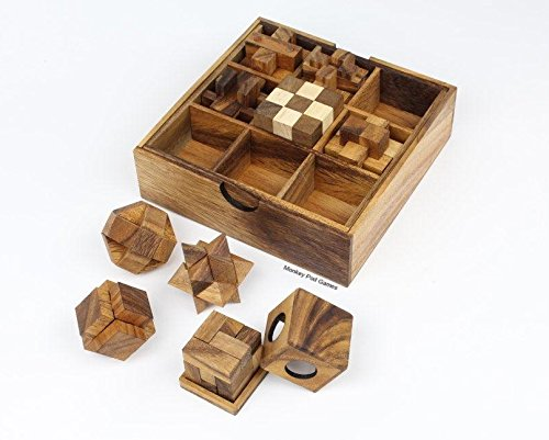 Monkey Pod Games Nine Puzzle Gift Set