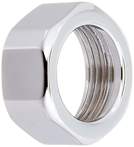 Rohl C7060APC Country Kitchen Hexagonal Capture Nut 0.30 for Wall Unions, Polished Chrome ()