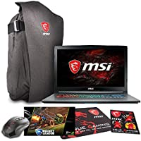 MSI GF72VR 7RF-650 17.3 FHD Gaming Laptop - Intel Core i7-7700HQ, 16GB RAM, 1TB HDD, GTX 1060, Win 10 + Gaming Bundle