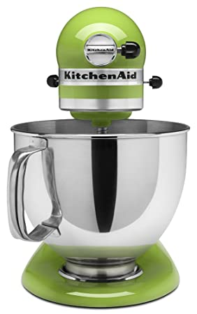 Amazon Com Kitchenaid Ksm150psga Artisan Series 5 Qt Stand Mixer