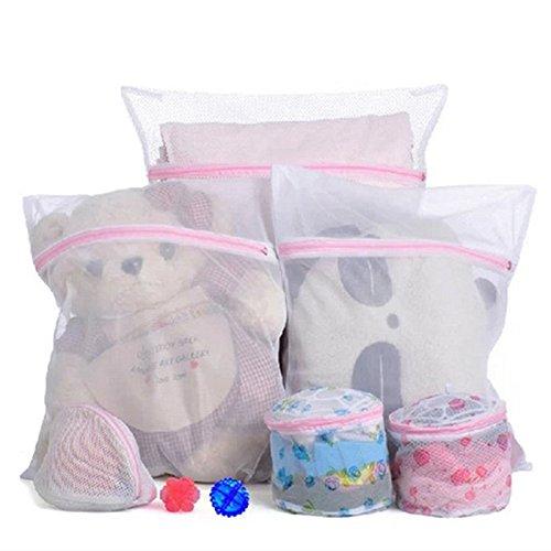 CHIC*MALL Underwear Clothes Aid Bra Socks Laundry Washing Machine Net Mesh Bag Small:30*40cm appox LEPAZN1092