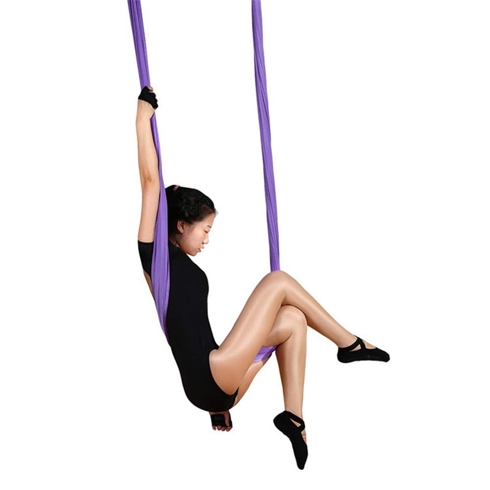 Aerial Yoga Hammock Anti-Gravity Pilates Yoga Gym Hanging ...
