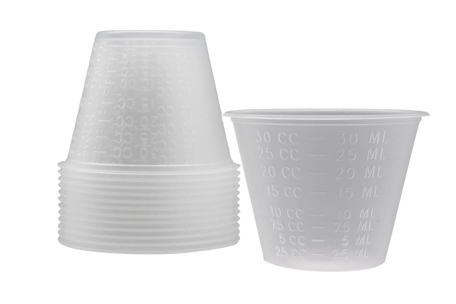 DUKAL 9007-M Medicine Cup, 1 oz, Translucent (Pack of 5000)