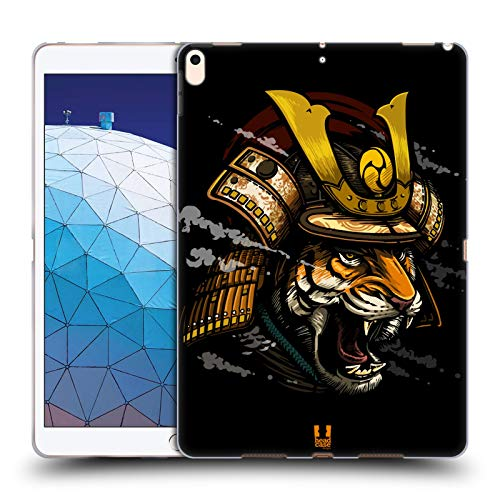 Head Case Designs Shogun Warriors from The Wild Soft Gel Case Compatible for iPad Air (2019)