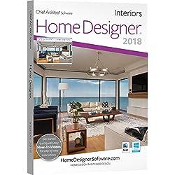 Chief Architect Home Designer Interiors 2018 - DVD/Key Card