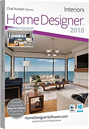 Chief Architect Home Designer Interiors 2018 - DVD
