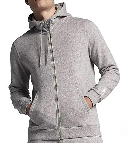 Nike Men's NikeLab Made in Italy Full Zip Hoodie Grey Heather Size S