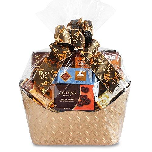 Majestic Godiva Chocolate Gift Basket by California Delicious by California Delicious (Image #1)