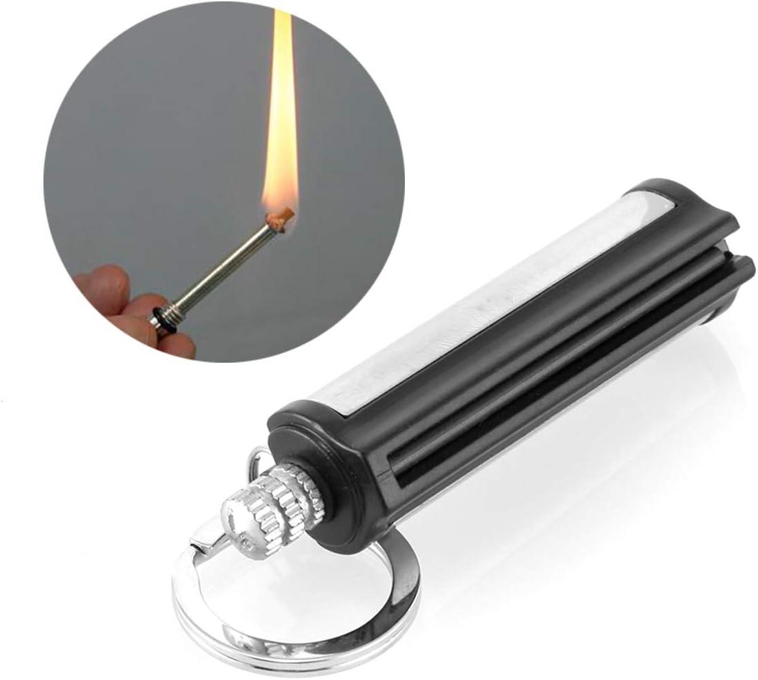 Rehomy Emergency Fire Starter Permanent Survival Camping Metal Match Striker Lighter