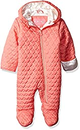 Wippette Baby Girls\' Quilted Pram, Coral, 6/9 Months
