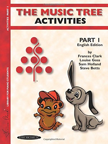 The Music Tree English Edition Activities Book: Part 1 (Music Tree (Summy))