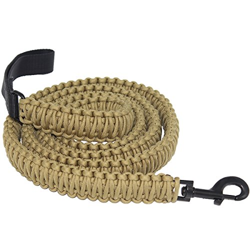 The Bobcats 550lb Handmade Durable Paracord Dog Training ...