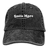 6fac57ab06f Men and Women Smile More Vintage Jeans Baseball Cap