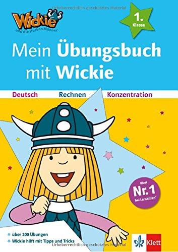 Mein Übungsbuch mit Wickie: Deutsch, Rechnen und Konzentration (Lesen lernen mit Wickie und die starken Männer)