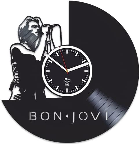 Kovides Bon Jovi Vinyl Wall Clock