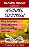 Reading order and checklist: Michael Connelly - Series read order: Harry Bosch, Mickey Haller, Jack McEvoy Series