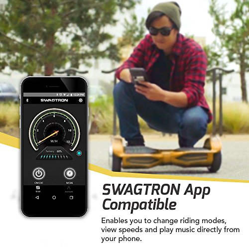 Swagtron T380 T3 Hoverboard (Brown)