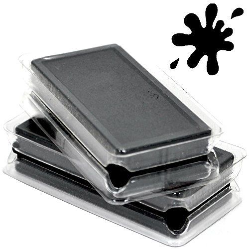 ExcelMark A4060 Self Inking Replacement Ink Pads - Black by ExcelMark
