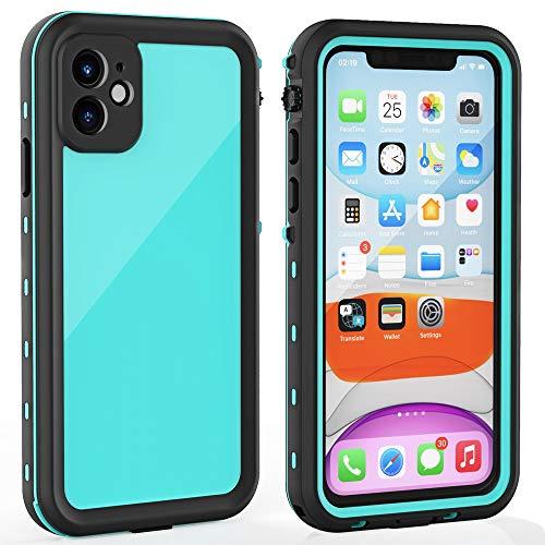 iPhone 11 Waterproof Case with Screen Protector Full Body Protector Shockproof Dustproof Dirtproof Heavy Duty IP68…
