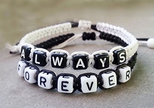68fbb87691 Amazon.com: Couples Bracelet, wedding Gift, Boyfriend Girlfriend ...
