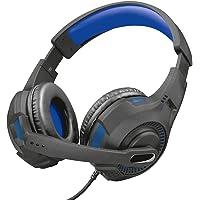 Headset Gamer PS4 / PS5 / XBOX series / SWITCH / PC / LAPTOP GXT 307B Ravu 40mm - Preto e Azul - Trust